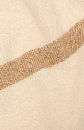 Мужские кашемировый шарф twelve LORO PIANA светло-бежевого цвета, арт. FAF9173 | Фото 2