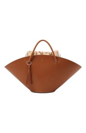 Женский сумка sombrero medium JIL SANDER коричневого цвета, арт. JSPR851309-WRB69150V | Фото 1