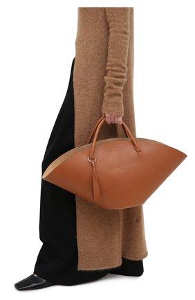 Женский сумка sombrero medium JIL SANDER коричневого цвета, арт. JSPR851309-WRB69150V | Фото 2