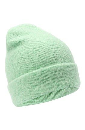 Женская шерстяная шапка ACNE STUDIOS светло-зеленого цвета, арт. C40111/W | Фото 1