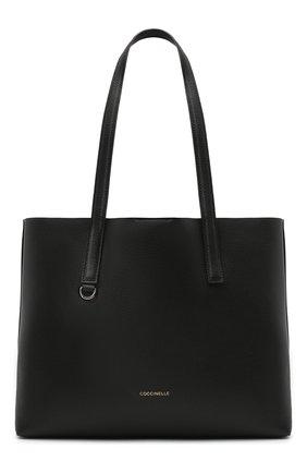 Женский сумка-тоут matinee COCCINELLE черного цвета, арт. E1 GJA 11 01 01 | Фото 1