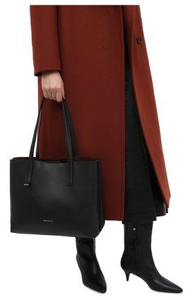 Женский сумка-тоут matinee COCCINELLE черного цвета, арт. E1 GJA 11 01 01 | Фото 2