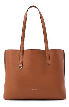 Женский сумка-тоут matinee COCCINELLE коричневого цвета, арт. E1 GJA 11 01 01 | Фото 1