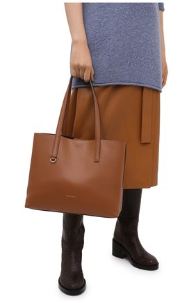 Женский сумка-тоут matinee COCCINELLE коричневого цвета, арт. E1 GJA 11 01 01 | Фото 2