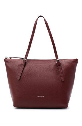 Женский сумка-тоут alix COCCINELLE бордового цвета, арт. E1 GA0 11 01 01 | Фото 1