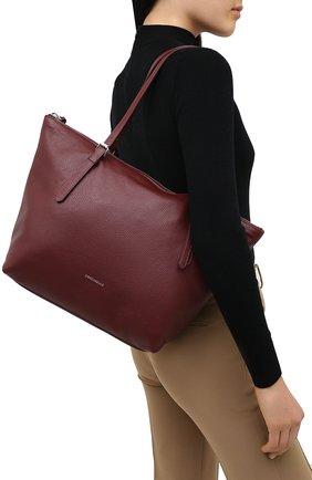 Женский сумка-тоут alix COCCINELLE бордового цвета, арт. E1 GA0 11 01 01 | Фото 2