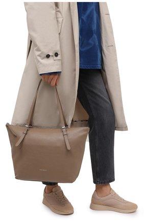 Женский сумка-тоут alix COCCINELLE бежевого цвета, арт. E1 GA0 11 01 01 | Фото 2