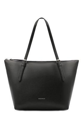 Женский сумка-тоут alix COCCINELLE черного цвета, арт. E1 GA0 11 01 01 | Фото 1