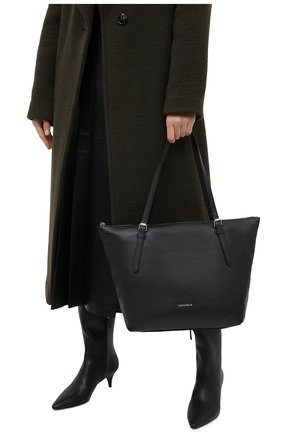 Женский сумка-тоут alix COCCINELLE черного цвета, арт. E1 GA0 11 01 01 | Фото 2