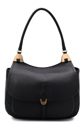 Женская сумка fauve large COCCINELLE черного цвета, арт. E1 G00 12 01 01 | Фото 1
