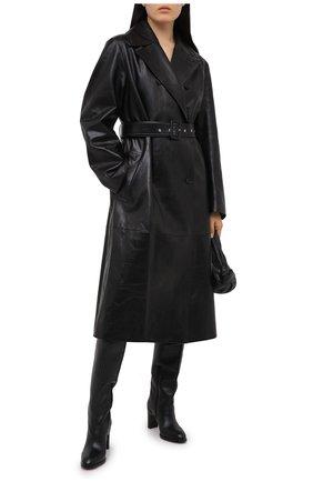 Женские кожаные сапоги liz SEE BY CHLOÉ черного цвета, арт. SB35005A/12001 | Фото 2
