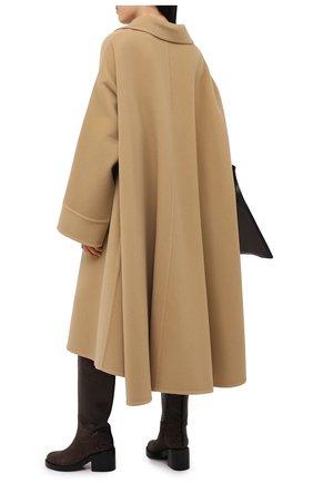 Женское шерстяное пальто LANVIN бежевого цвета, арт. RM-0U0407-4337-H20   Фото 2