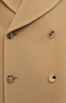 Женское шерстяное пальто LANVIN бежевого цвета, арт. RM-0U0407-4337-H20   Фото 5
