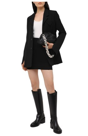 Женская юбка из вискозы 1017 ALYX 9SM черного цвета, арт. AAWSK0029FA01 | Фото 2