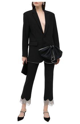 Женский жакет AREA черного цвета, арт. PF20J03032 | Фото 2