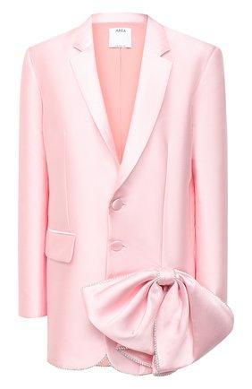 Женский жакет AREA светло-розового цвета, арт. PF20J03084 | Фото 1