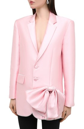 Женский жакет AREA светло-розового цвета, арт. PF20J03084 | Фото 3