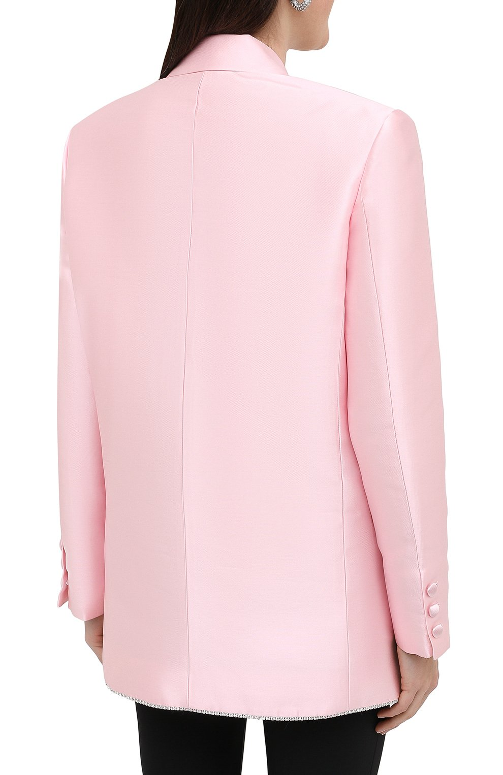 Женский жакет AREA светло-розового цвета, арт. PF20J03084 | Фото 4