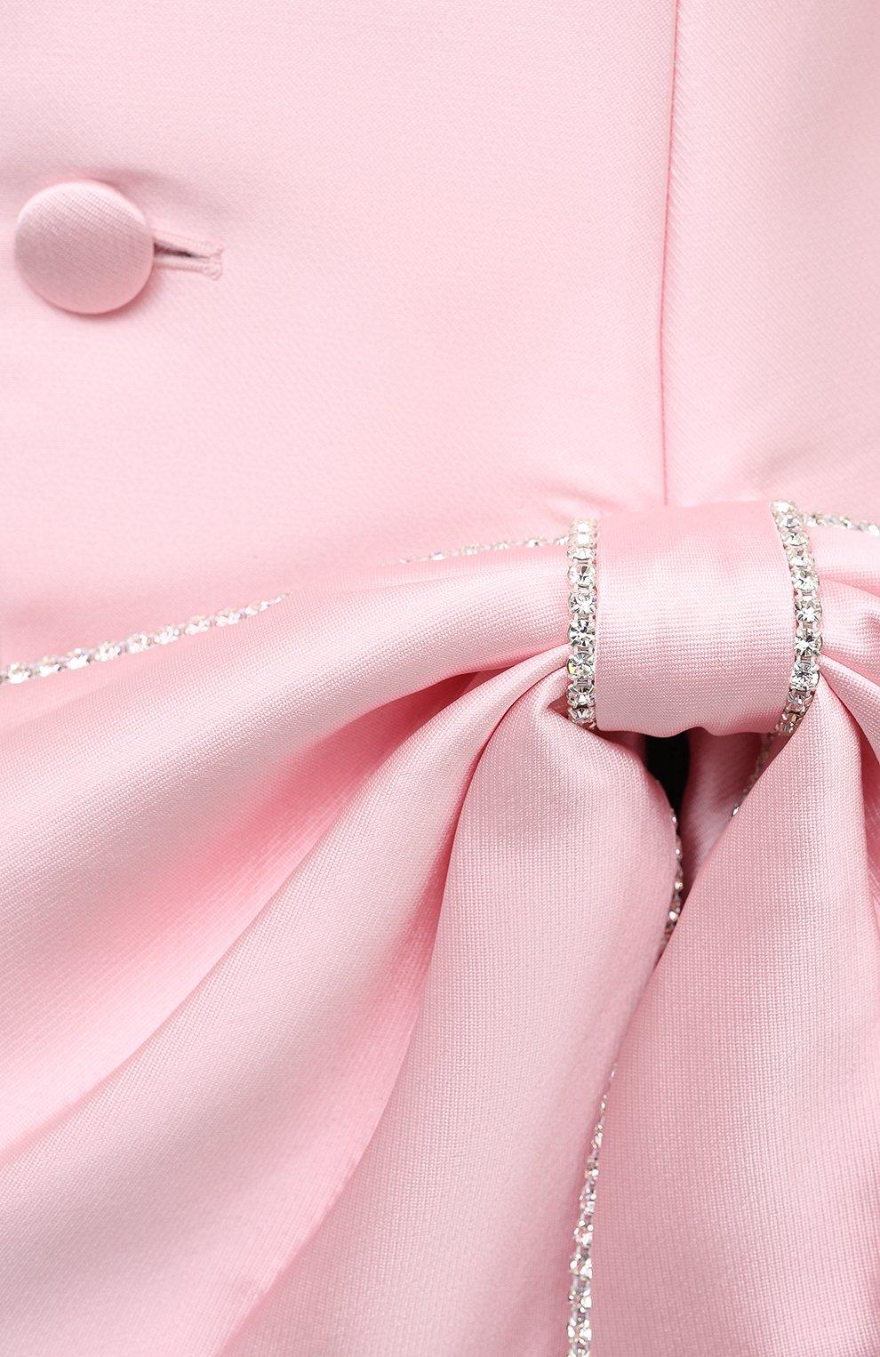 Женский жакет AREA светло-розового цвета, арт. PF20J03084 | Фото 5