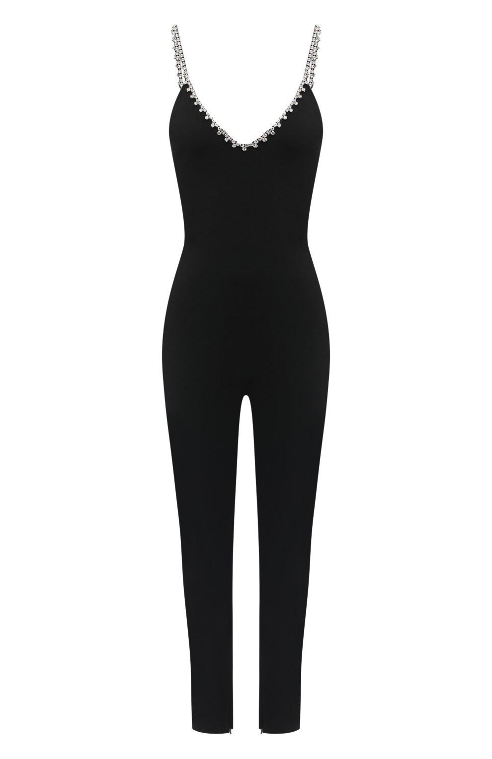 Женский комбинезон AREA черного цвета, арт. PF20JS04004 | Фото 1