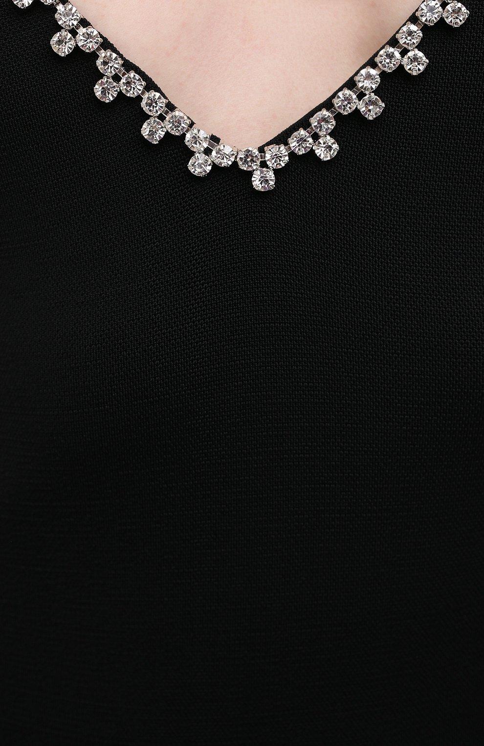 Женский комбинезон AREA черного цвета, арт. PF20JS04004 | Фото 5