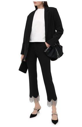 Женские брюки AREA черного цвета, арт. PF20P10032 | Фото 2