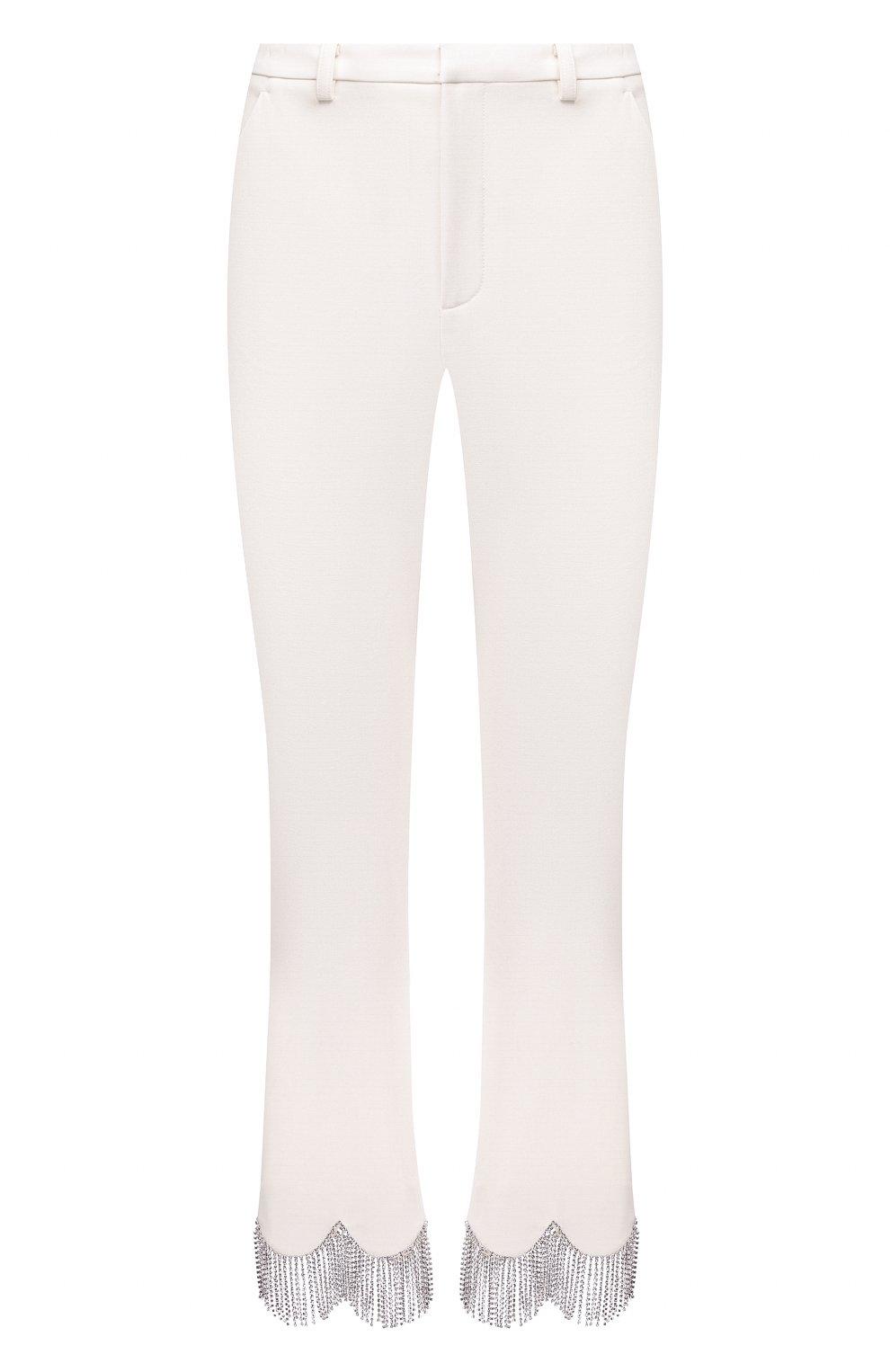 Женские брюки AREA белого цвета, арт. PF20P10032 | Фото 1