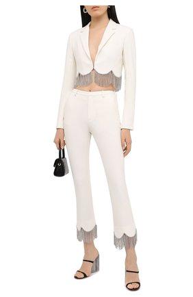 Женские брюки AREA белого цвета, арт. PF20P10032 | Фото 2