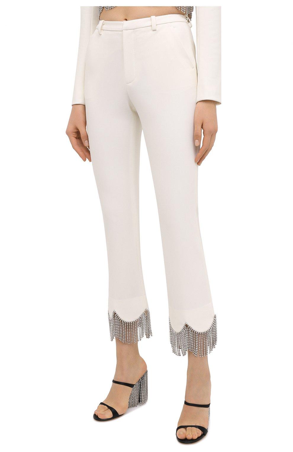 Женские брюки AREA белого цвета, арт. PF20P10032 | Фото 3