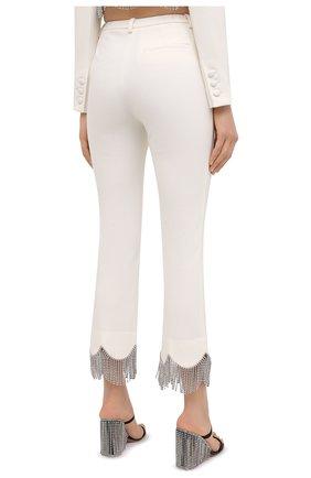 Женские брюки AREA белого цвета, арт. PF20P10032 | Фото 4