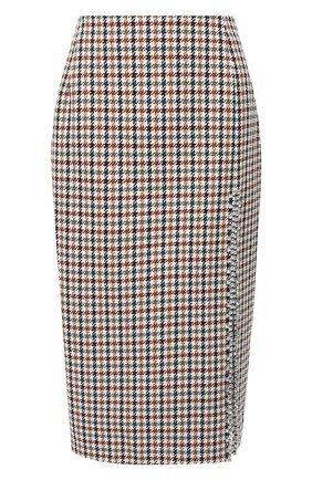 Женская юбка AREA коричневого цвета, арт. PF20S05082 | Фото 1