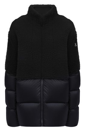 Женский пуховая куртка moncler + rick owens RICK OWENS черного цвета, арт. MU20F0003/A0161 | Фото 1