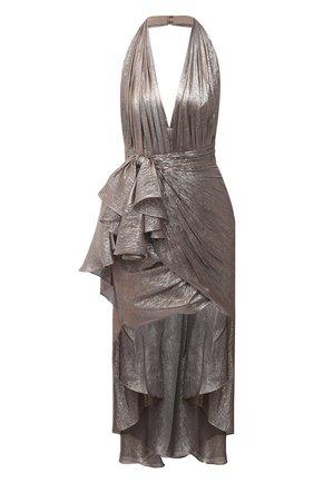 Женское платье ZUHAIR MURAD серебряного цвета, арт. DRP20011/CHLU003 | Фото 1