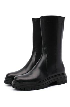 Женские кожаные сапоги martis GIANVITO ROSSI черного цвета, арт. G73303.20G0M.VITNER0 | Фото 1