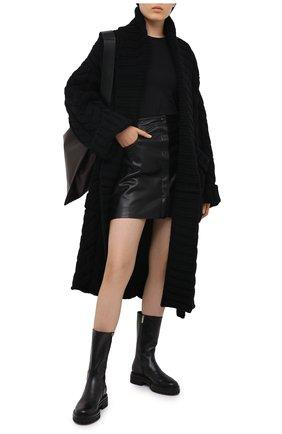 Женские кожаные сапоги martis GIANVITO ROSSI черного цвета, арт. G73303.20G0M.VITNER0 | Фото 2