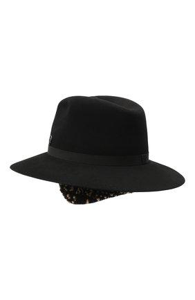 Женская фетровая шляпа MAISON MICHEL черного цвета, арт. 1147001001/HENRIETTA EARS | Фото 2