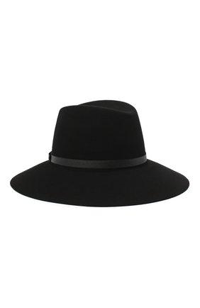 Женская фетровая шляпа MAISON MICHEL черного цвета, арт. 1009059001/KATE   Фото 1