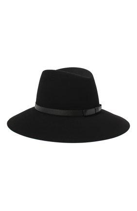 Женская фетровая шляпа MAISON MICHEL черного цвета, арт. 1009059001/KATE   Фото 2