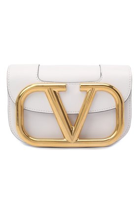 Женская сумка valentino garavani supervee VALENTINO белого цвета, арт. UW0B0G45/ZXL | Фото 1