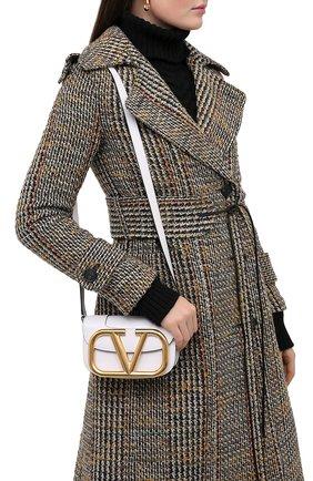 Женская сумка valentino garavani supervee VALENTINO белого цвета, арт. UW0B0G45/ZXL | Фото 2