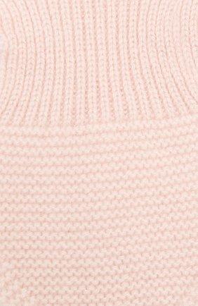 Детский кашемировый шарф LES LUTINS PARIS светло-розового цвета, арт. 20H040/ELISE | Фото 2