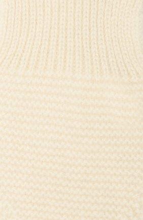 Детский кашемировый шарф LES LUTINS PARIS бежевого цвета, арт. 20H040/ELISE | Фото 2