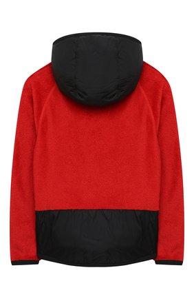Детского комбинированная куртка MONCLER красного цвета, арт. F2-954-8G506-20-809EG/12-14A | Фото 2