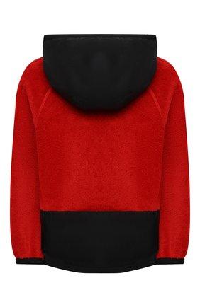 Детского комбинированная куртка MONCLER красного цвета, арт. F2-954-8G506-20-809EG/4-6A | Фото 2