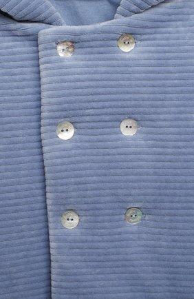 Детского хлопковая куртка TARTINE ET CHOCOLAT голубого цвета, арт. TR44001/42/1M-1A | Фото 3