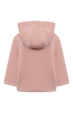 Детского хлопковая куртка TARTINE ET CHOCOLAT розового цвета, арт. TR44001/32/1M-1A | Фото 2