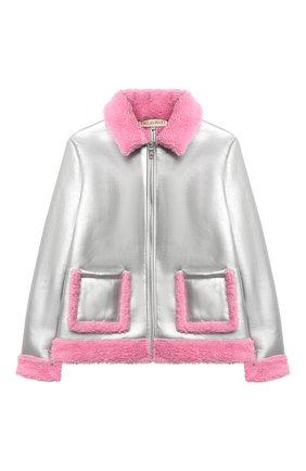 Куртка с отделкой из шерсти   Фото №1