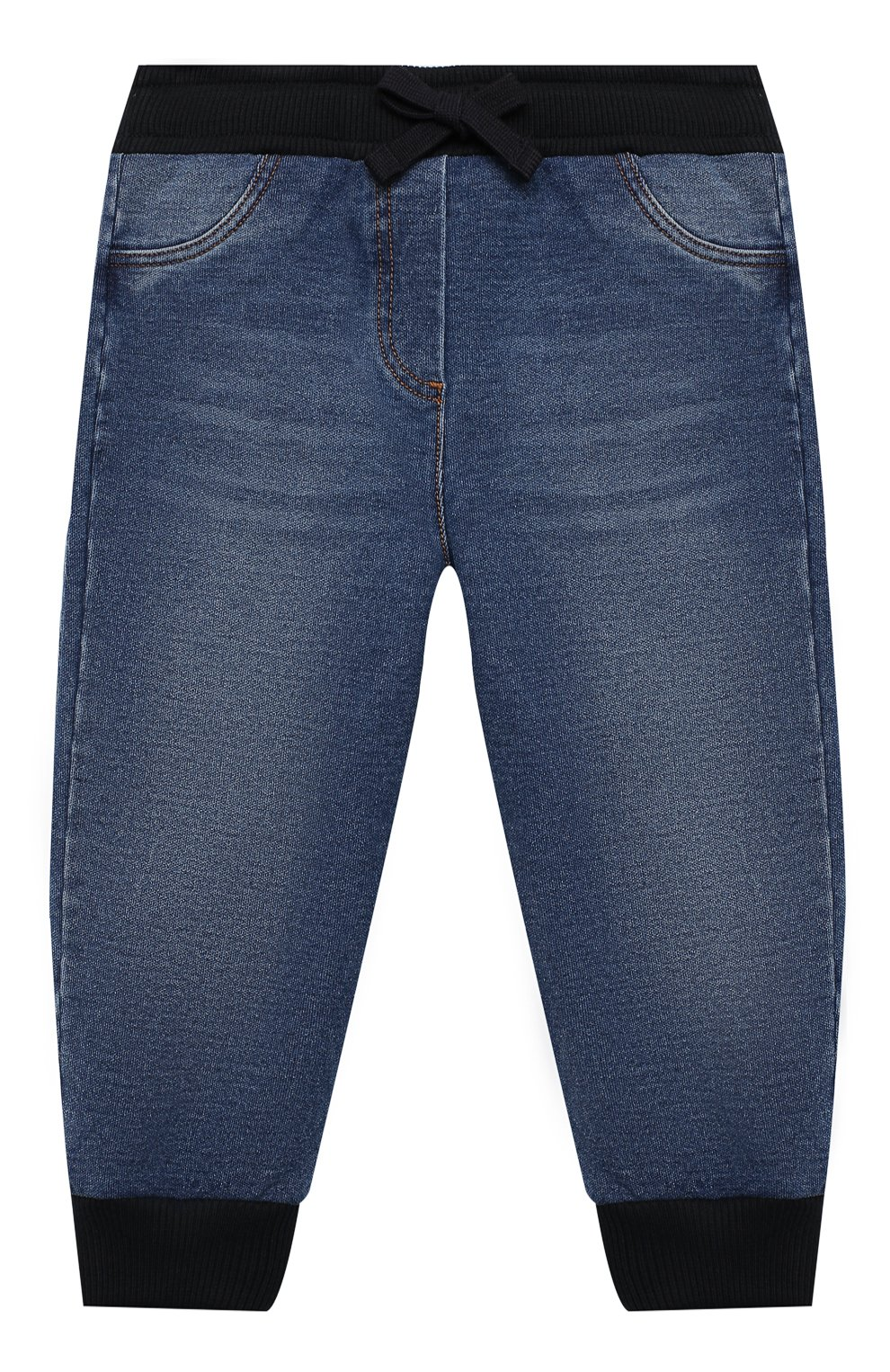 Детские джинсы DOLCE & GABBANA синего цвета, арт. L2JP7G/G7XNY   Фото 1