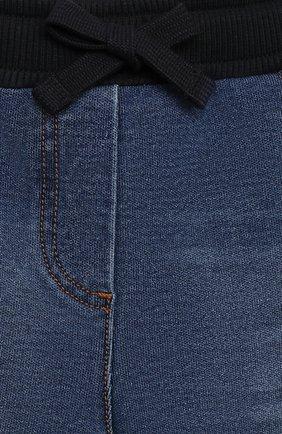 Детские джинсы DOLCE & GABBANA синего цвета, арт. L2JP7G/G7XNY   Фото 3