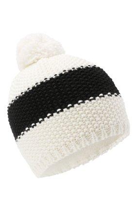 Детского шерстяная шапка BOGNER KIDS черно-белого цвета, арт. 95556408 | Фото 1